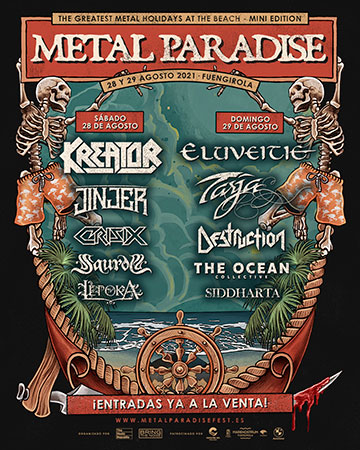 Metal Paradise Fest 2021 será un evento seguro