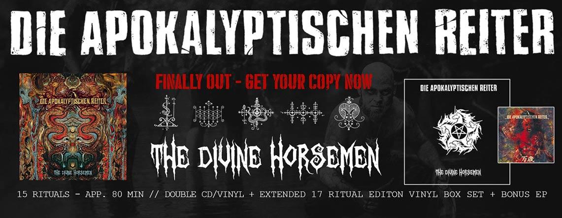 Die Apokalyptischen Reiter: The Divine Horsemen // Nuclear Blast
