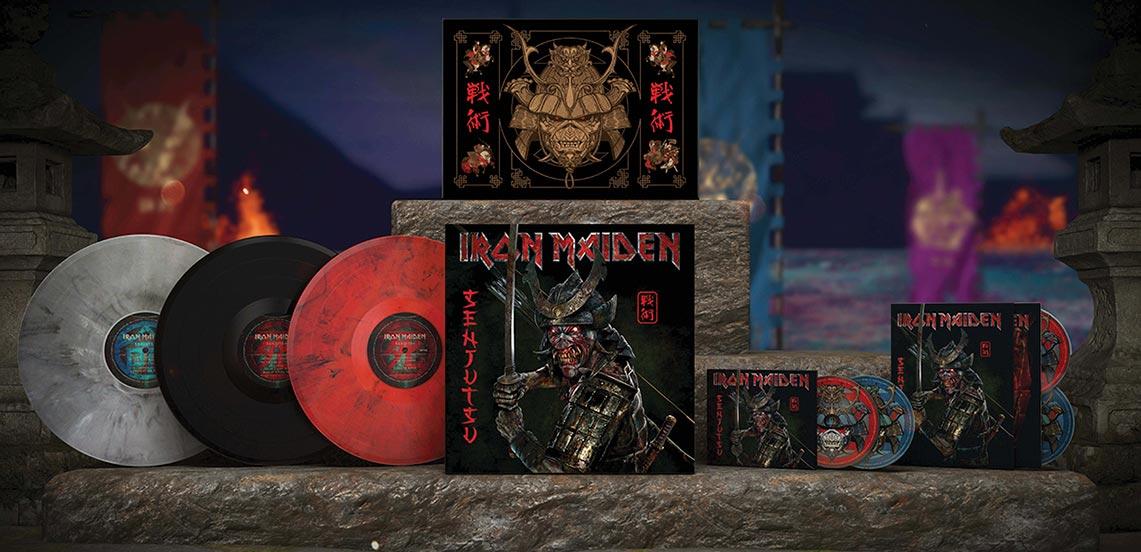Iron Maiden: Senjutsu // Parlophone – Warner Music