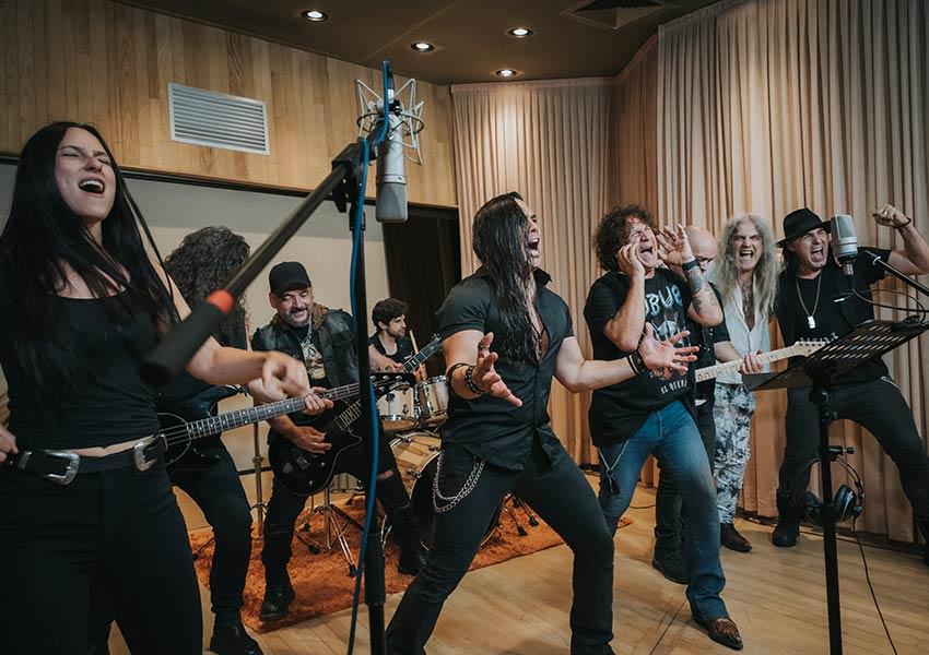 «Larga Vida al Metal», himno para la campaña «El metal nunca muere»