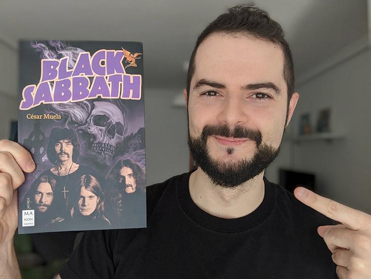 Entrevista a César Muela sobre su libro sobre Black Sabbath